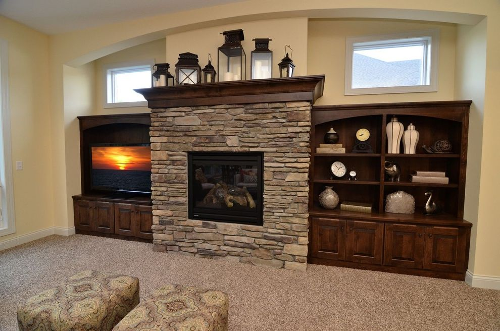 Owen Corning   Traditional Living Room  and Traditional