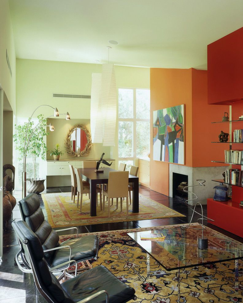 Painting Adjoining Rooms Different Colors Contemporary
