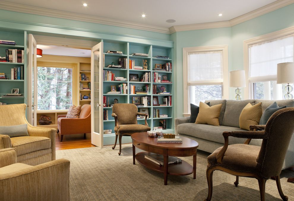 Painting Adjoining Rooms Different Colors With Eclectic