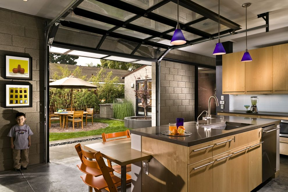 Parker Garage Doors   Modern Kitchen  and Modern
