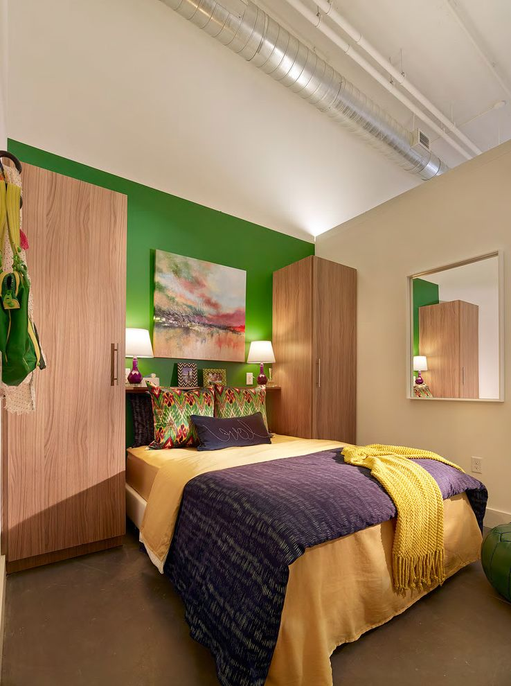 Parkway Lofts   Industrial Bedroom Also Industrial