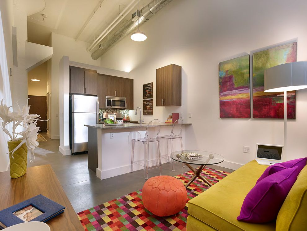 Parkway Lofts with Industrial Kitchen Also Industrial