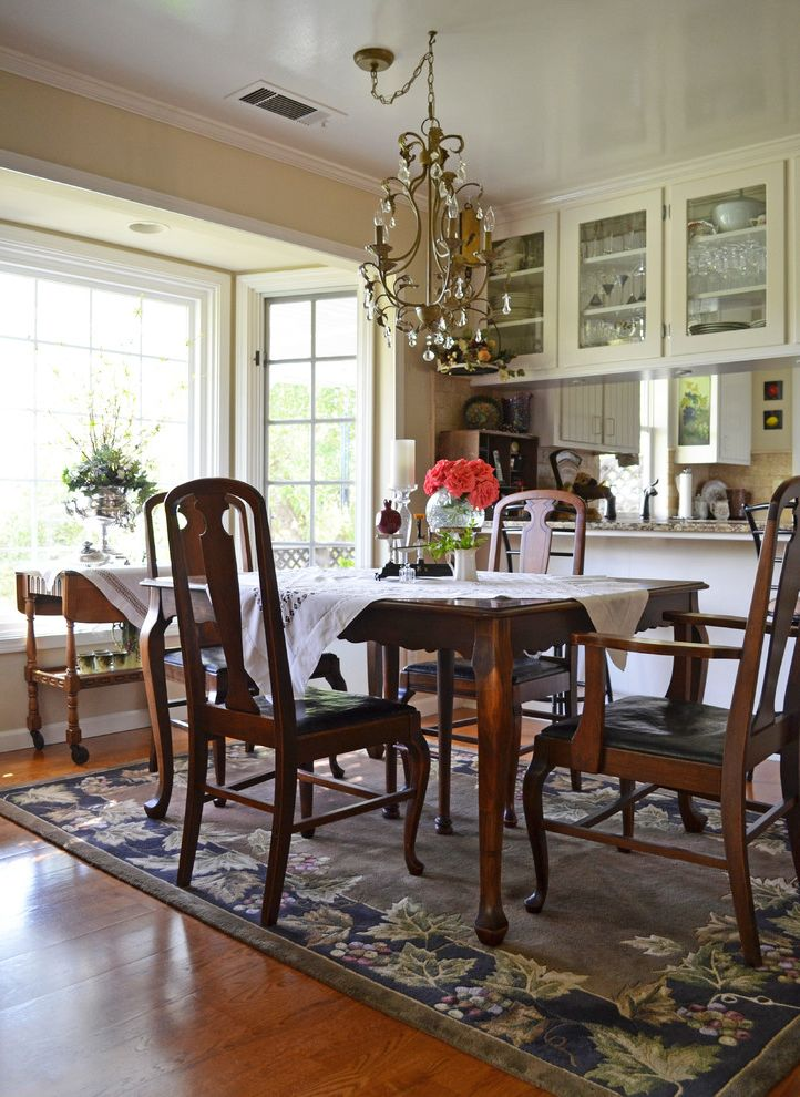 Paso Robles Craigslist with Farmhouse Dining Room Also Antique Bay Cabinets Chandelier Glass Romanic Vintage Window