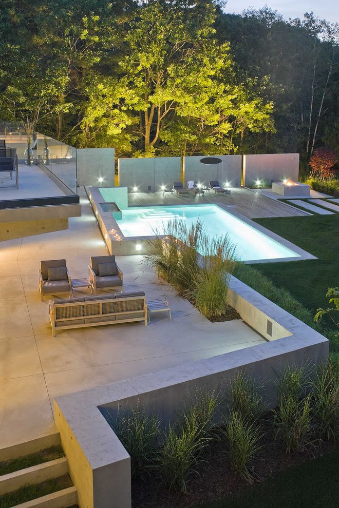 Paver Calculator with Contemporary Pool Also Concrete Pavers Concrete Wall Garden Furniture Garden Light Patio Pavers Pool Steps Wall Wood Deck