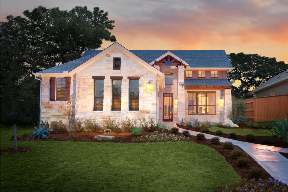 Pearson Place at Avery Ranch with Traditional Exterior  and Traditional