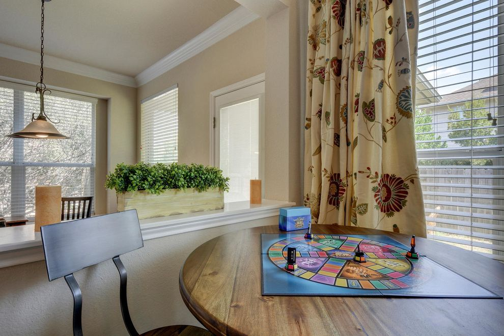 Pearson Place at Avery Ranch with Transitional Family Room Also Game Tables