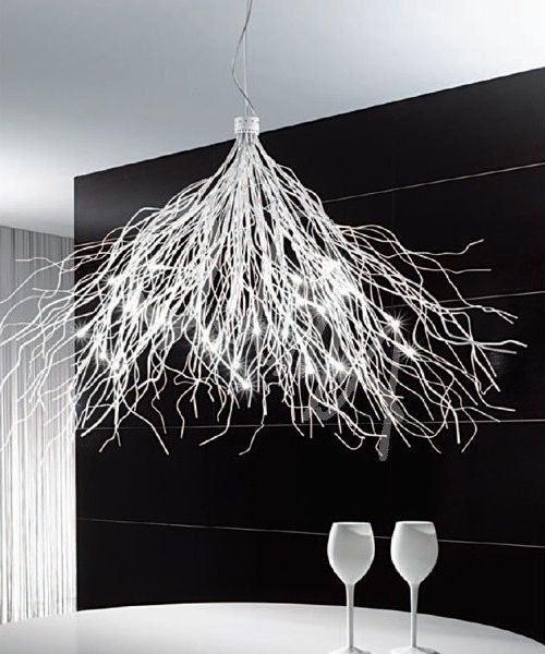 Pego Lamps   Modern Dining Room Also Contemporary Chandelier Modern Chandelier