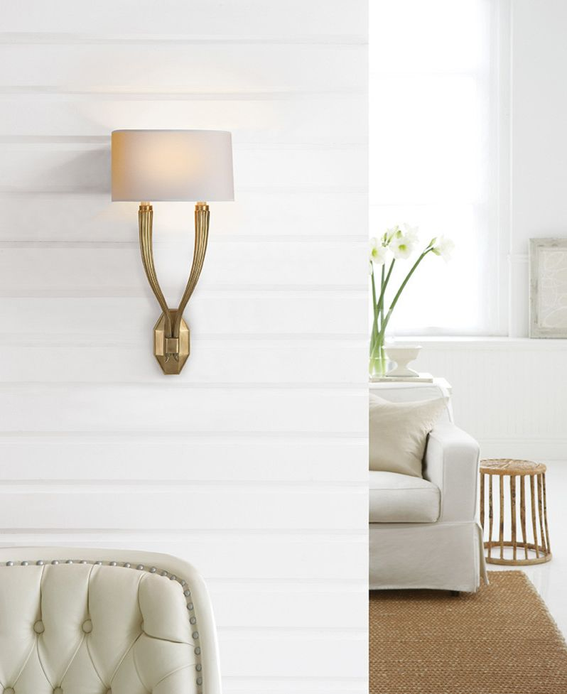 Pego Lamps with Eclectic Bedroom  and Wall Sconces