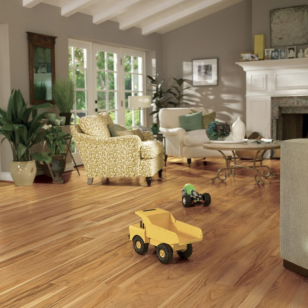 Pergo Flooring Reviews   Traditional Family Room Also Traditional