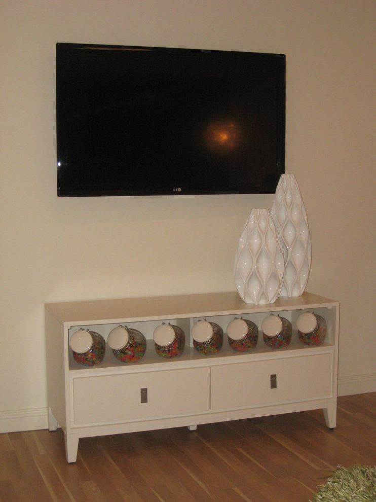 Phoenix Dream Center with Contemporary Bedroom and Credenza Under Tv
