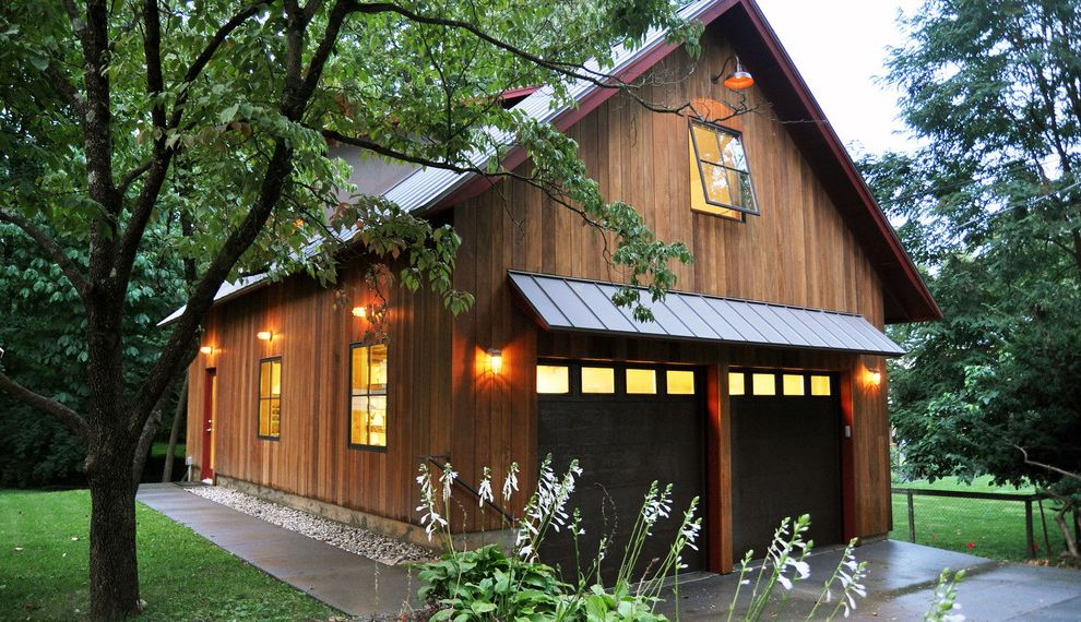 Photo Studio Rental Nyc with Rustic Garage  and Awning Awning Window Barn Barn Lamp Bronze Window Carriage House Garage Metal Roof Office Shed Standing Seam Studio Vertical Wood Wood Wood Siding Work