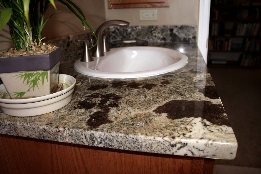 Picasso Granite with  Bathroom  and Bathroom Vanity Drop in Mccormick Tile Stone Picasso Granite