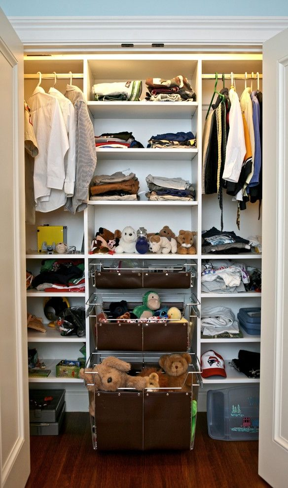 Pictures of Closet Organizers Traditional Closet Also Childrens Closet Drawers Hanging Rod Shelves Storage Wood Floor & Pictures of Closet Organizers for Traditional Closet and Childrens ...