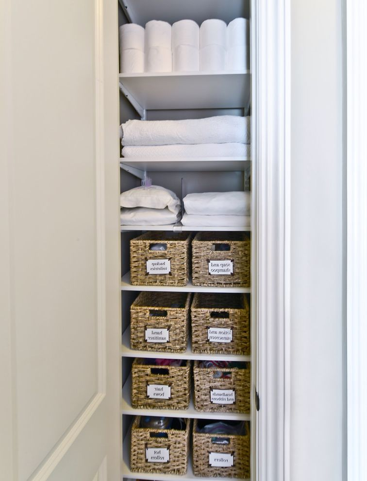 Closet Organizers With Transitional
