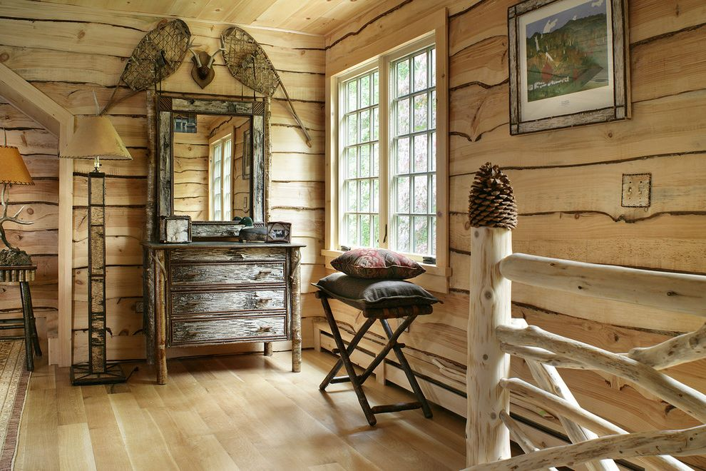 Pine Cone Lumber   Rustic Bedroom Also Adirondack Guest Bedroom Handcrafted Natural Rustic Pine