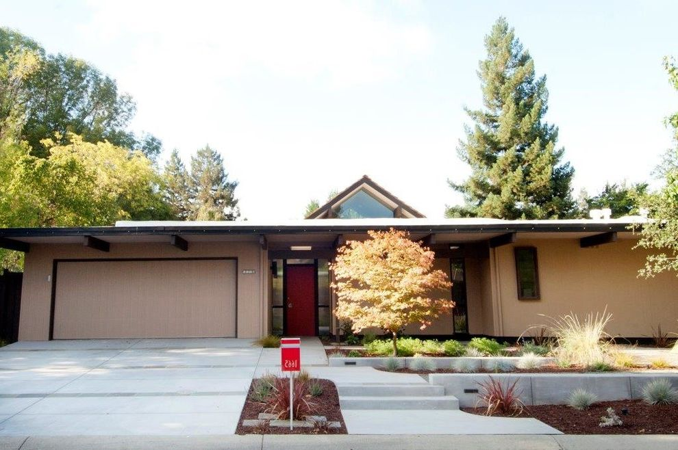 Pine Cone Lumber with Modern Exterior  and Eichler Homes