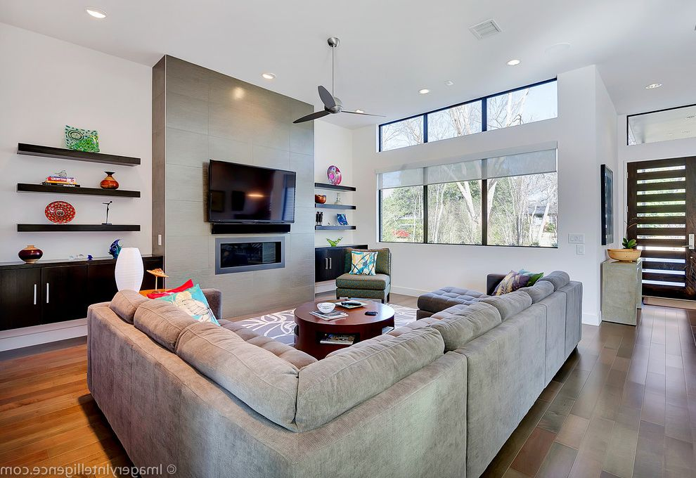 Plae Flooring with Contemporary Family Room Also Clean Contemporary Contemporary Design Modern