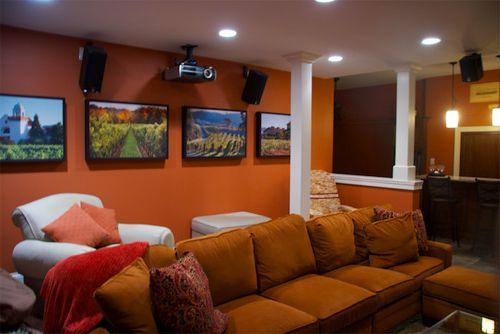 Platinum Theaters    Spaces Also Acoustic Acoustic Controls Decorative Fabrics Home Media Home Theater