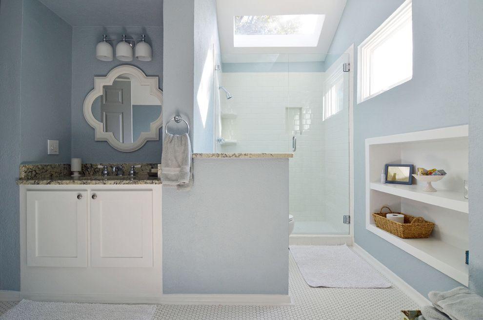 Plumbers Tyler Tx   Traditional Bathroom Also Bath Blue Shower