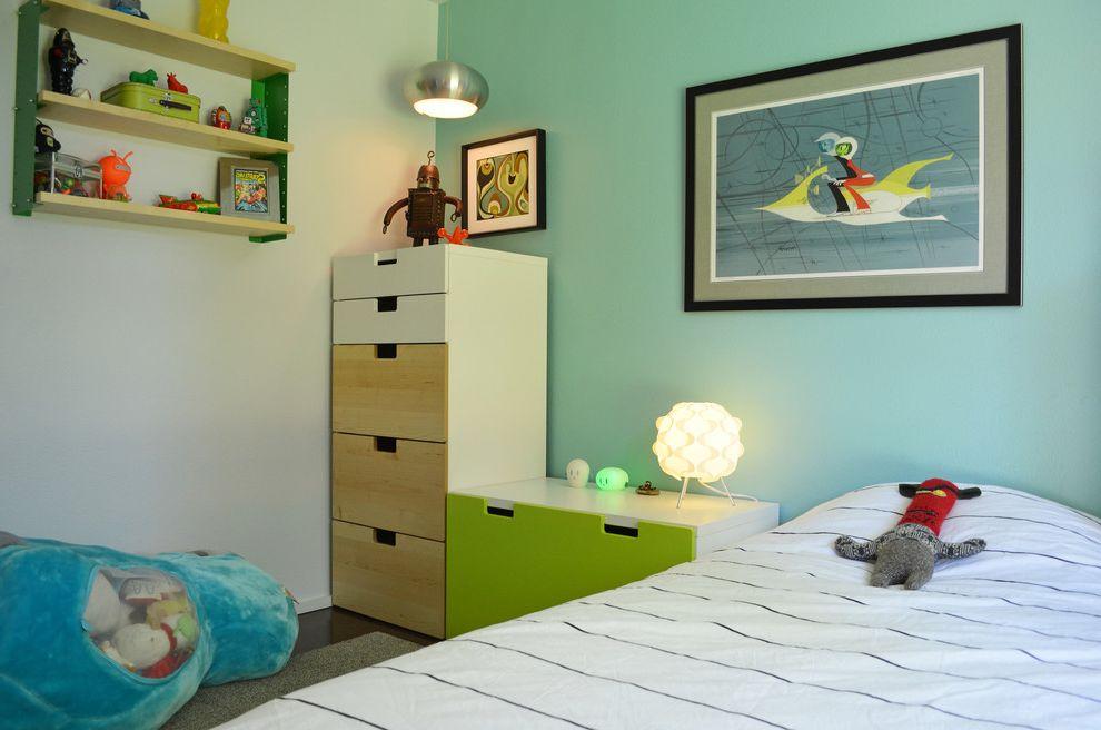 Plumbers Tyler Tx with Midcentury Kids  and Artwork Boys Room Chrome Dresser Light Blue Natural Wood Pendant Light Plush Storage Drawers Table Lamp Toys Wall Shelf