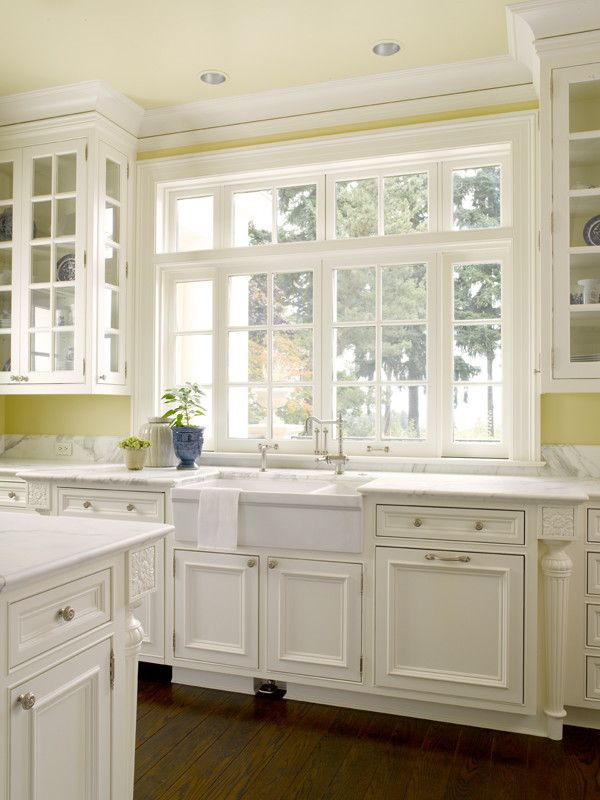 Plumbing Parts Plus   Traditional Kitchen Also Color Cupboards Foot Pedal for Faucet Glass Cupboards Kitchen Sink Window