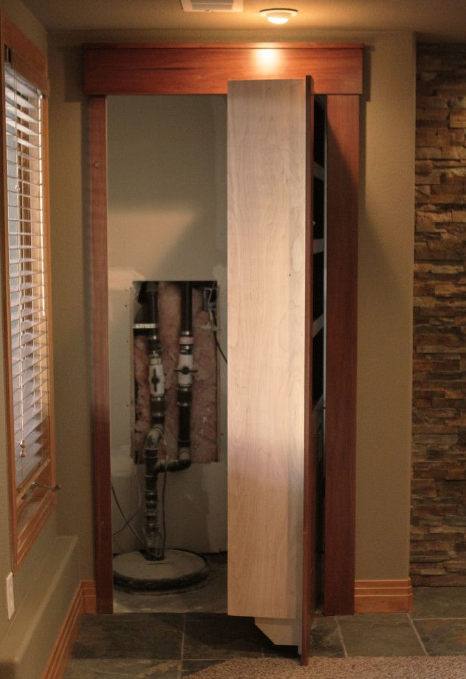 Plumbing Supply Denver with Traditional Hall Also Bookcase Bookcase Door Built in Bookcase Hidden Door Hidden Door Bookcase Closed