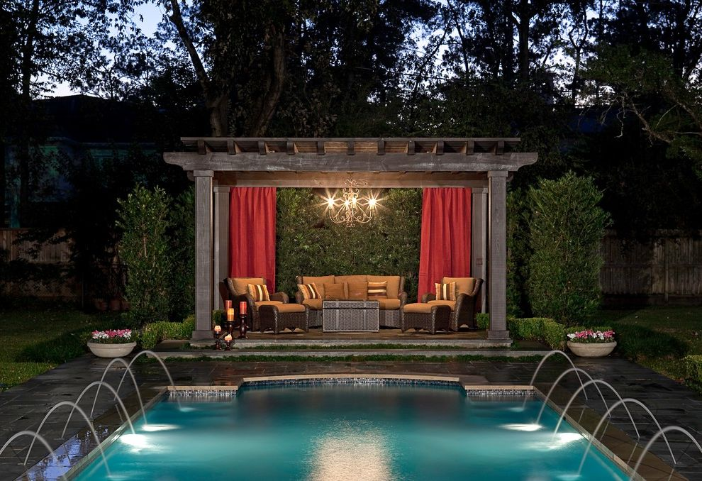 Traditional Pool And Landscaping $style In $location