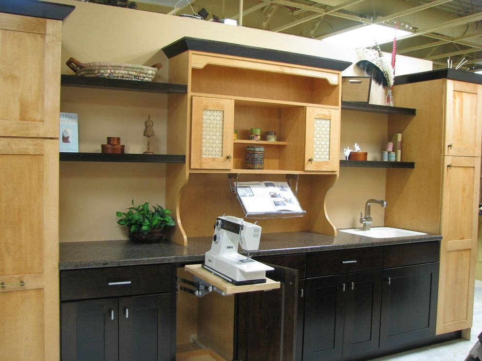 Pop Up Mixer Cabinet For Sewing Machine $style In $location