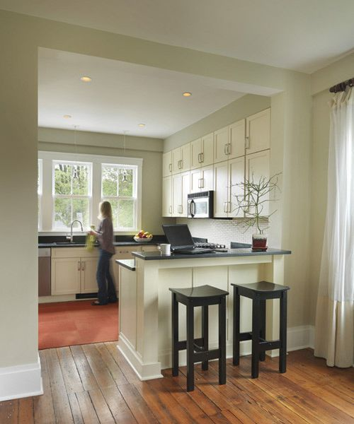 Post Community Credit Union   Contemporary Kitchen  and Contemporary