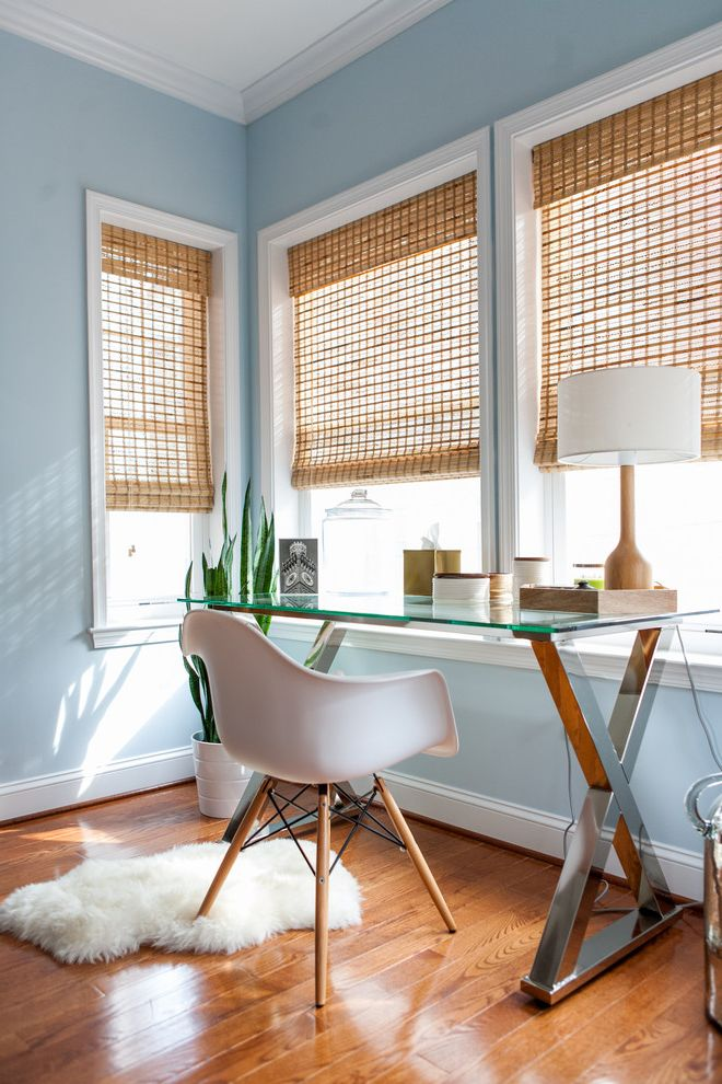 Pottery Barn Secretary Desk with Transitional Home Office and Area Rugs Bamboo Blinds Bamboo Shades Glass Desk Nautical Pottery Barn Rustic Modern Suitcases Transitional West Elm