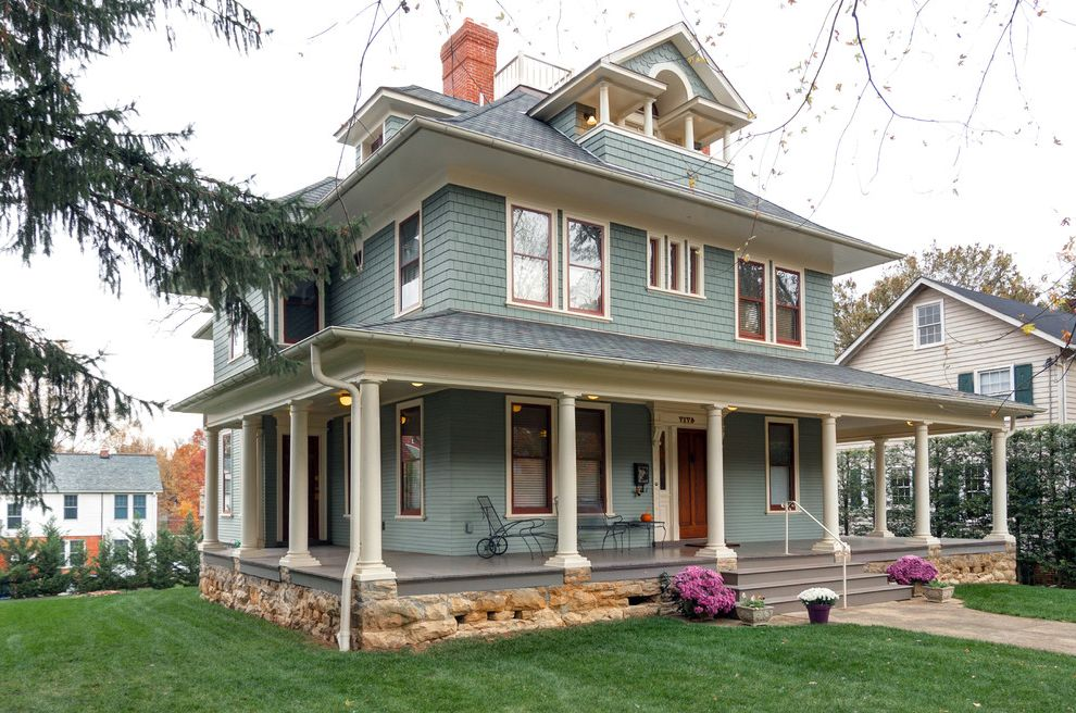 Pratt and Lambert Paint Reviews Traditional Exterior and Blue ...