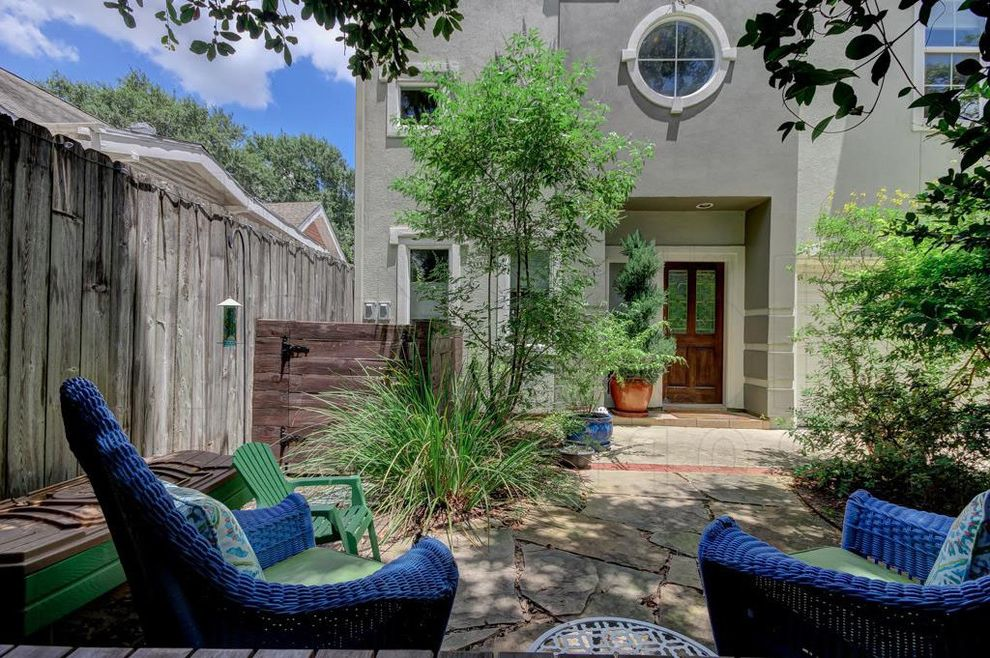 Private Investigator Houston Tx with  Patio  and 3 Bedroom Free Standing Home for Sale Houston Houston Heights Real Estate Texas Traditional