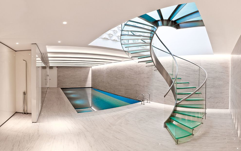 Public Pools Columbia Sc with Contemporary Staircase  and Glass and Metal Glass Banister Glass Staircase Indoor Pool Metal Handrail Swimming Pool