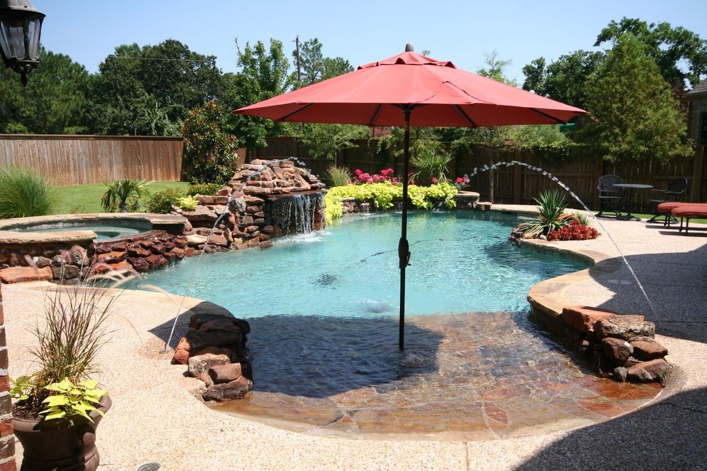Pulliam Pools   Beach Style Pool Also Beach Style