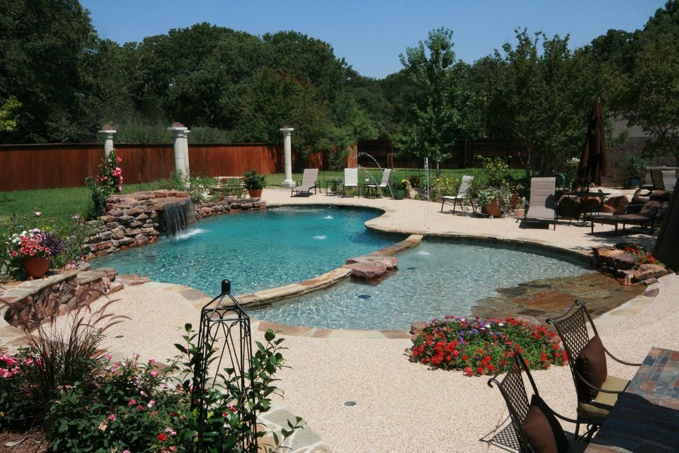 Pulliam Pools   Beach Style Pool  and Beach Style