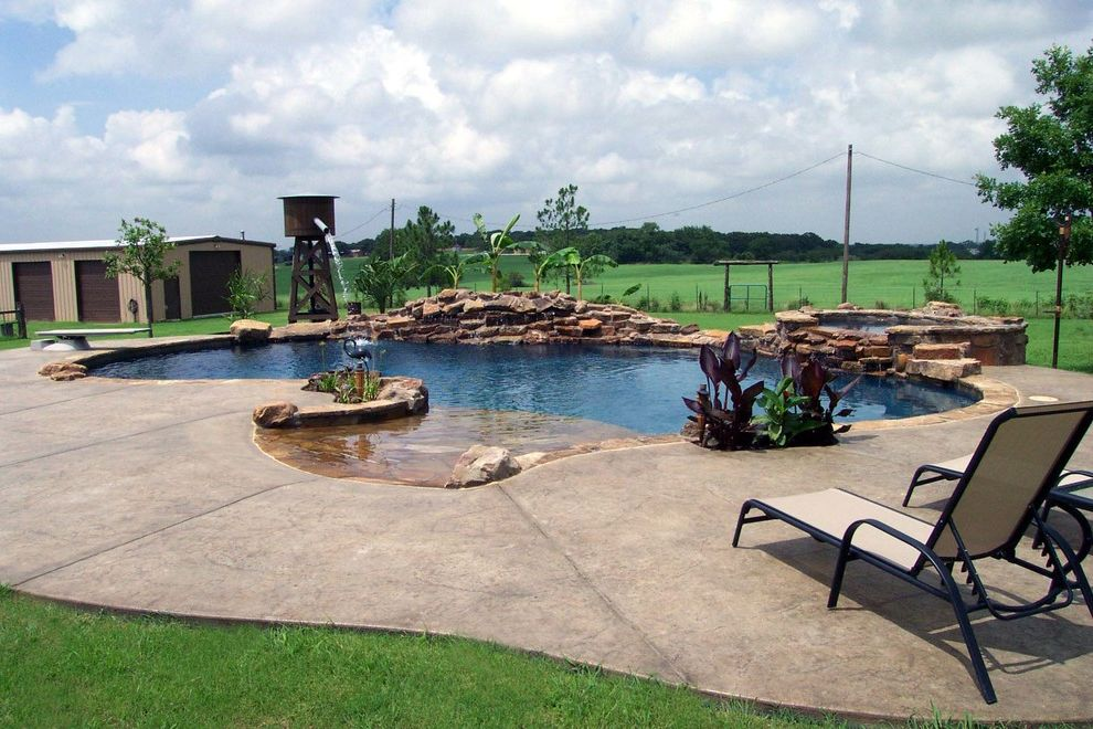 Pulliam Pools with Beach Style Pool Also Beach Style