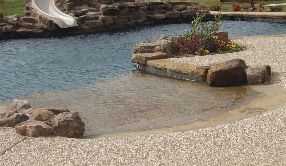 Pulliam Pools with Beach Style Pool  and Beach Style