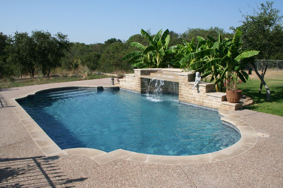 Pulliam Pools with Traditional Pool Also Traditional