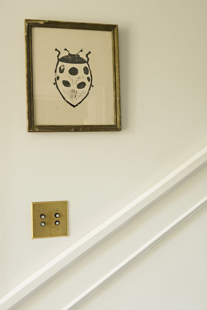 Push Button Dimmer Switch   Transitional Spaces  and Transitional