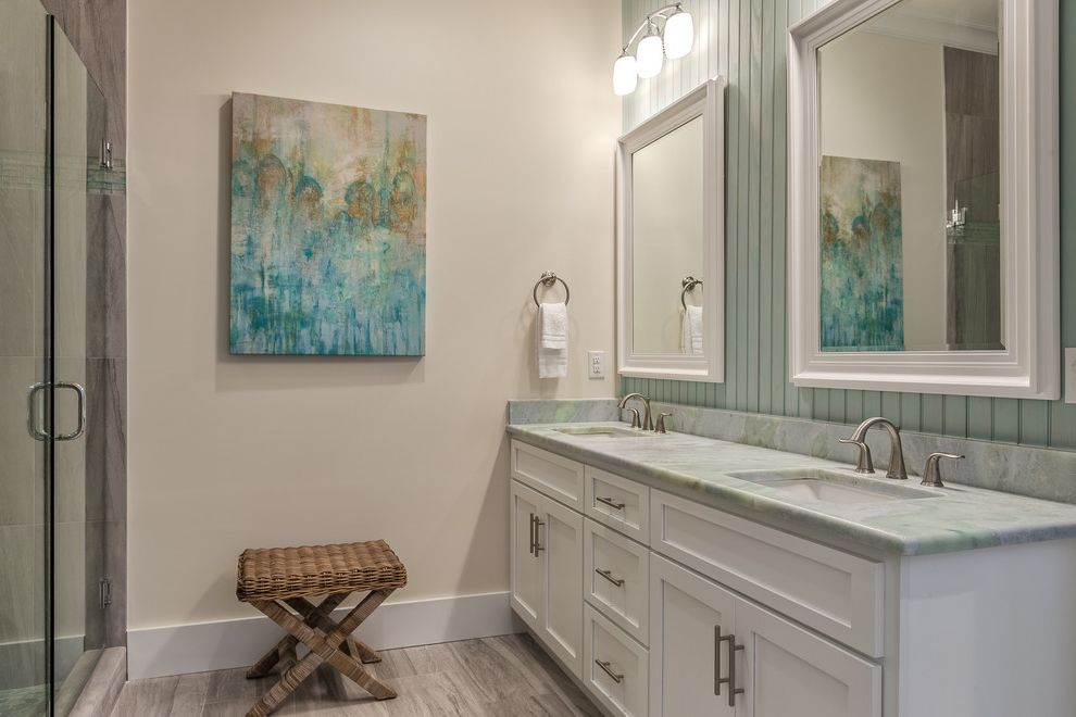 Real Estate Broker Charlotte Nc with Beach Style Bathroom  and Cottage Gulf Front Home Orange Beach