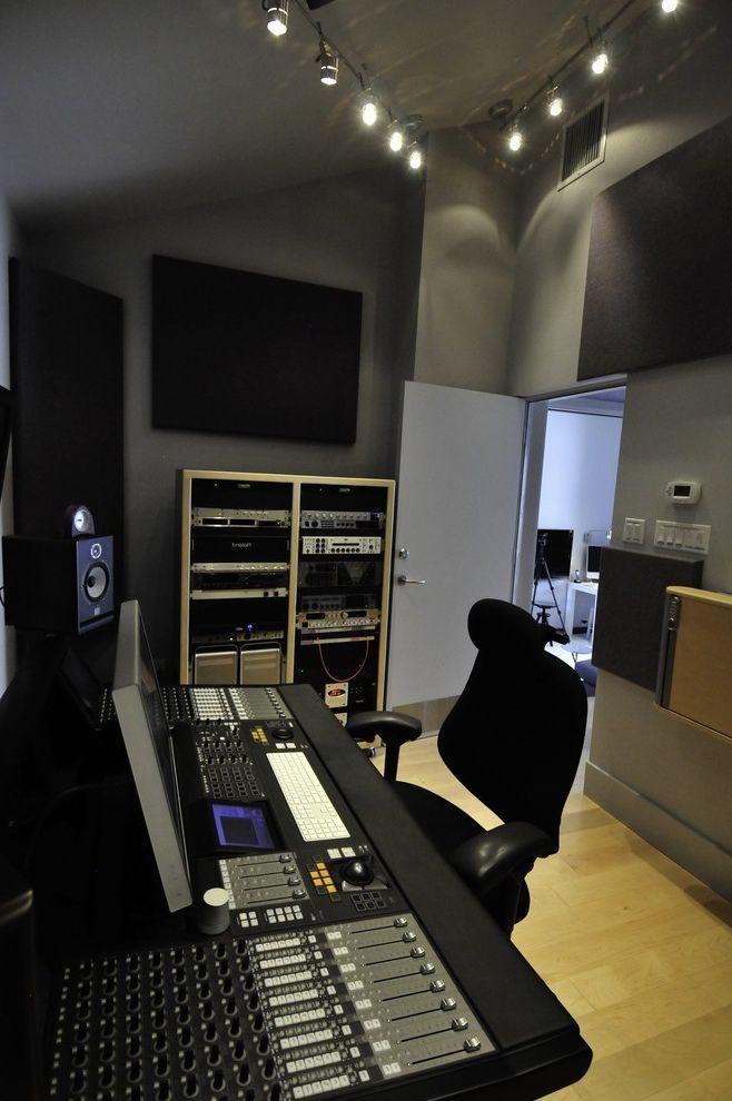 Recording Studio Sacramento   Contemporary Home Theater  and Contemporary