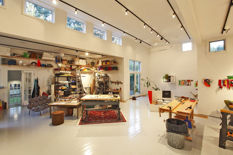 Artist Studio - Interior View $style In $location