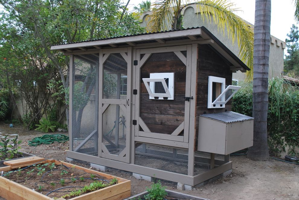 Reclaimed Wood Chicken Coop $style In $location