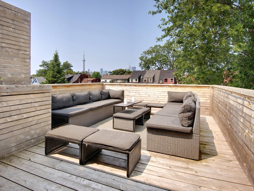 Regina Andrew Furniture   Contemporary Deck Also Cedar Deck Modern Outdoor Furniture Outdoor Lounge Outdoor Seating Outdoor Sectional Party Rooftop Deck Rooftop Patio