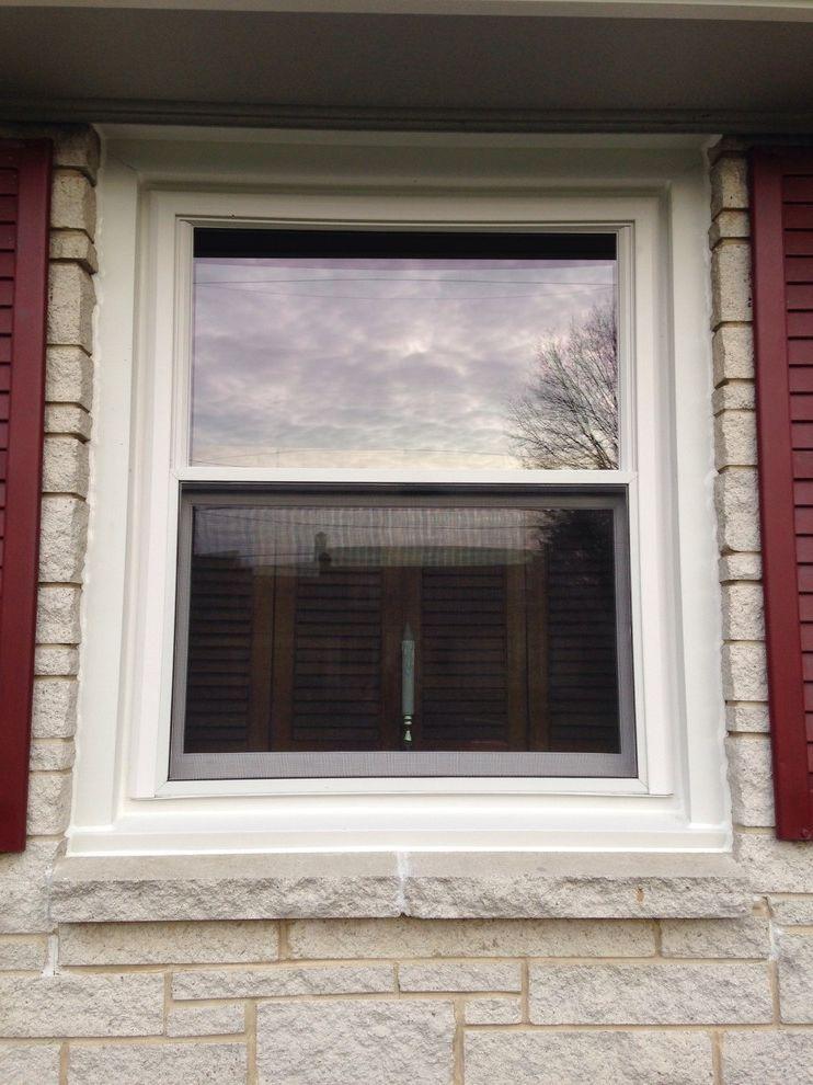 Reliabilt Windows with Contemporary Exterior Also Double Hung Windows Windows
