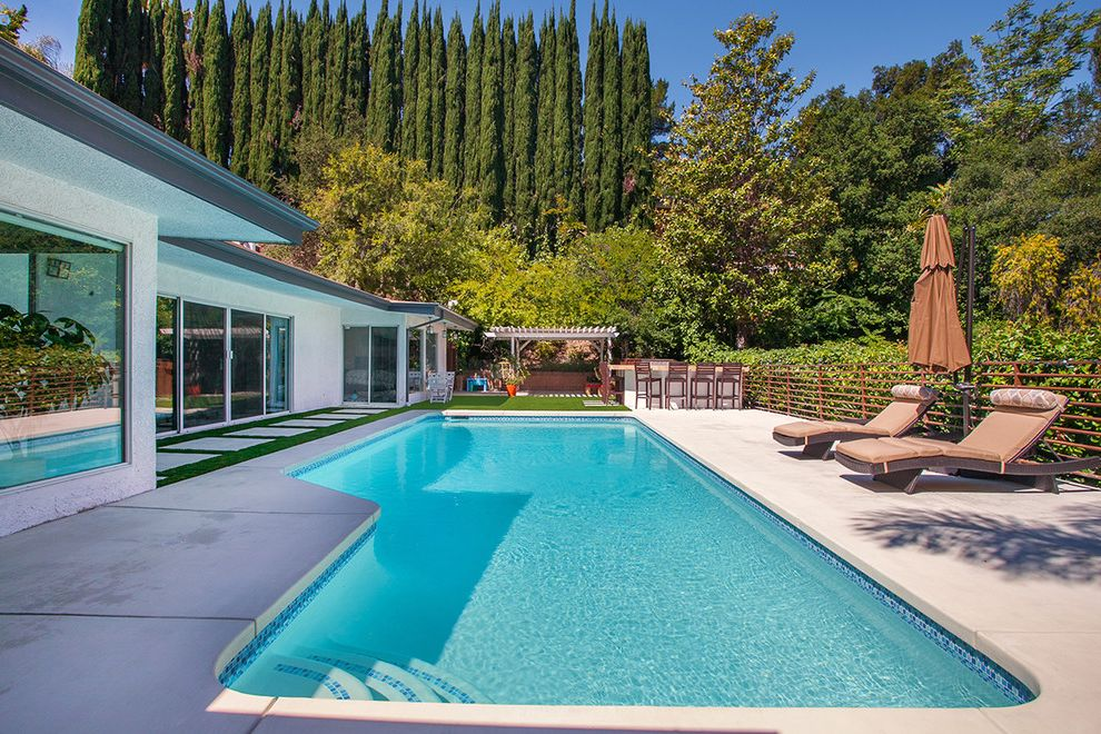 Reliable Pools   Modern Pool Also Artificial Grass Backyard Concrete Modern Concrete Pool Pool Deck Pool Deck Ideas Pool Designs Pool Plaster Sherman Oaks Pool