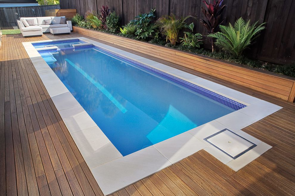 Reliable Pools with Contemporary Pool  and Plunge Pool Spa Pool Spa Spillover Swimming Pools Spas Swimming Pools and Spas