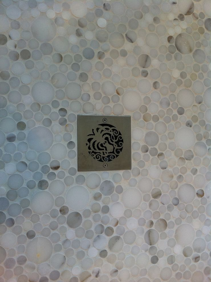 Replacement Shower Drain Cover   Contemporary Bathroom Also Contemporary