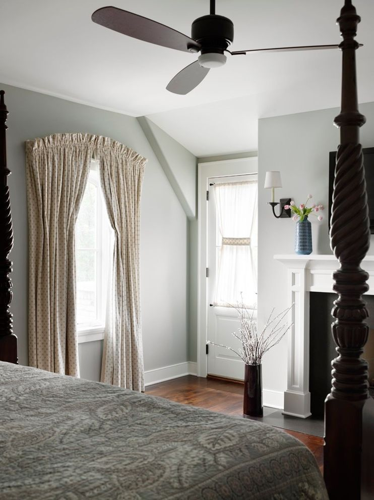 Restoration Hardware Houston with Traditional Bedroom Also Absolute Black Fireplace Surround Arched Drapery Bedroom Fireplace in Bedroom Iron Sconces Italian Strung Drapery Rogers and Goffigan Traditional Fireplace Mantle