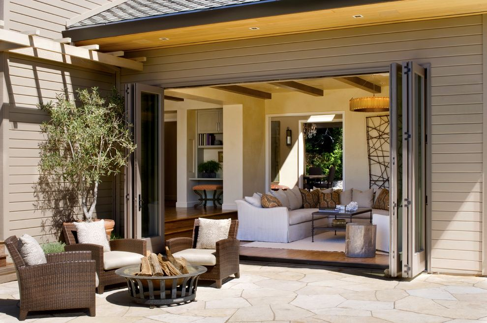 Retractable Glass Doors with Transitional Patio Also Arbor Fire Pit Flagstone Folding Patio Doors Pillows Seat Cushions Siding Sofa Twig Art Wood Ceiling Woven Outdoor Chairs